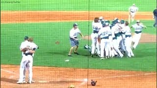 Download Pitcher consoles opposing batter who is his childhood friend instead of celebrating with team Video