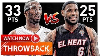 Download Throwback: Kobe Bryant vs LeBron James EPIC Duel Highlights (2012.03.04) Lakers vs Heat - MUST SEE! Video