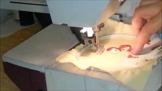 Download Tutoriel #1~ Comment faire un appliqué en broderie machine ? (Embroidery machine) Video