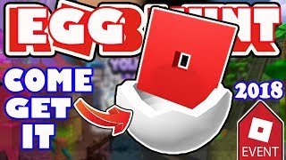 Download COME GET YOUR EGGMIN EGGS - Roblox Egg Hunt 2018 Admin Egg - I Purchased An Egg Launcher! Video