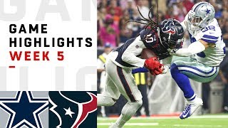 Download Cowboys vs. Texans Week 5 Highlights | NFL 2018 Video