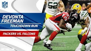 Download Devonta Freeman Scores TD & Shoots a Free Throw to Celebrate!   Packers vs. Falcons   NFL Wk 2 Video