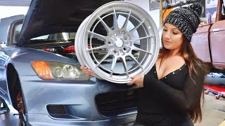 Download Sabrina's S2000 gets new Wheels! Video