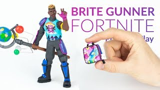 Download Brite Gunner & Global Axe – (Fortnite Battle Royale) – Polymer Clay Tutorial Video