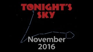 Download Tonight's Sky: November 2016 Video