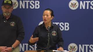 Download NTSB Vice Chairman Bella Dinh-Zarr brief on Hoboken, NJ train accident September 30, 2016 Video