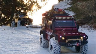 Download Traxxas TRX-4 vs Axial SCX10 II Cherokee Rock Crawling #1 Video
