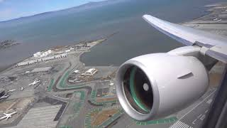 Download UNITED AIRLINES Boeing 777-200 / San Francisco to Honolulu / 4K Video Video