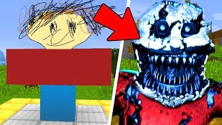 Download HOW TO SUMMON NIGHTMARE PLAYTIME - MINECRAFT CRAFTING SCARY BALDI BASICS Video
