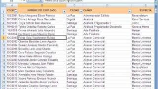Download Filtrar por varias columnas en Excel 2007 Video