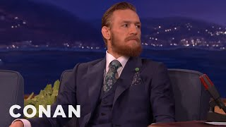 Download Conor McGregor: I Will Destroy Chad Mendes & Floyd Mayweather - CONAN on TBS Video