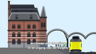 Download Project Groningen Spoorzone: meer treinen en spoor Video