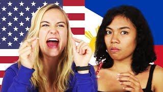 Download Filipinos & Americans Swap Snacks Video
