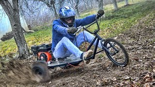 Download Homemade 200cc BMX Extreme TRIKE / Part 2 T E S T Video
