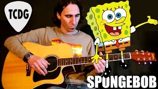 Download How To Play SpongeBob on Acoustic Guitar: Fast Tutorial TCDG Video