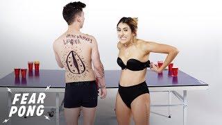 Download Fear Pong Blind Date (Jamie vs. Rachel) | Fear Pong | Cut Video