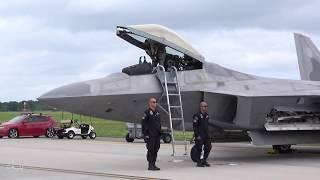 Download F-22 Raptor Launch: 2018 Air Power Over Hampton Roads (Sunday) Video