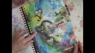 Download Life Notes Art Journal Flip Through Video