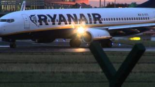 Download Dublin Airport Takeoffs and Landings Video