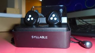 Download Inside the box: Syllable D900 Mini Wireless Bluetooth Earbuds Video