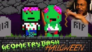 Download HALLOWEEN LEVELS. | Geometry Dash #23 (Halloween Special 2017) Video