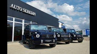 Download (2018) Mercedes-Benz G63 AMG, G500, G500 | AUTO SEREDIN GERMANY Video