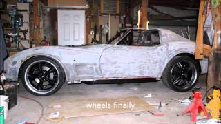 Download Building a 1974 C3 resto-mod corvette in 8 minutes Video