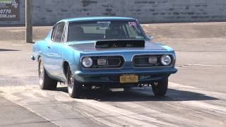 Download 67 Plymouth Barracuda at Atco Dragway... Video