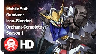 Download Mobile Suit Gundam: Iron Blooded Orphans Complete Season 1 - Official Trailer Video