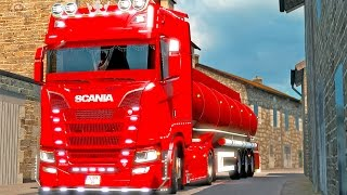 Download Scania S580 Tuning ETS2 (Euro Truck Simulator 2) Video