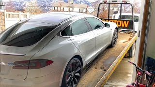 Download My TESLA battery DIED!!! Video