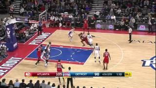 Download Atlanta Hawks vs Detroit Pistons | January 9, 2015 | NBA 2014-15 Season Video