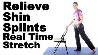Download Relieve Shin Splints with This Real Time Anterior Tibialis Stretch - Ask Doctor Jo Video