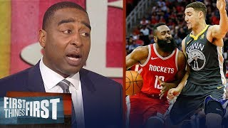 Download Cris Carter on why Klay is better than James Harden, D'Antoni's strategy | NBA | FIRST THINGS FIRST Video