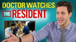 Download Real Doctor Reacts to THE RESIDENT | Medical Drama Review | Doctor Mike Video