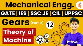 Download 8 PM - GATE, IES, SSC JE, CIL, UPPSC 2020 | Mechanical Engg by Neeraj Sir | TOM | Gears - 2 Video