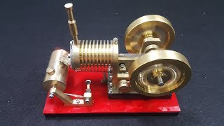 Download V4 - Stirling Engine Model Educational Discovery Video