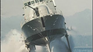 Download The Fastest Ship in the U.S. Navy: Boeing Pegasus-Class Hydrofoils (720p) Video