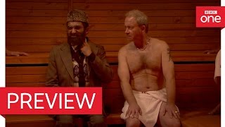 Download Mr Khan meets Andy (Harry Enfield) in the Sauna - Citizen Khan Series 5 Episode 4 - BBC One Video
