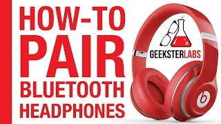 Download How-To Pair/Sync Bluetooth Headphones (Beats By Dre) on iPhone Video