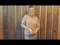 Download Свитер РЕГЛАНОМ СВЕРХУ С РОСТКОМ. Спицами. МК. Часть 1. Video