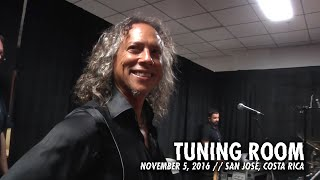 Download Metallica: Tuning Room (MetOnTour - San José, Costa Rica - 2016) Video
