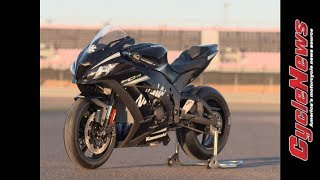 Download 2017 Kawasaki ZX-10RR Track Test - Cycle News Video