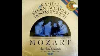 Download Mozart: Complete Flute Quartets (1986: Rampal/Stern/Accardo/Rostropovich) Video