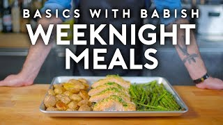 Download Weeknight Meals | Basics with Babish Video