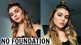 Download FLAWLESS SKIN WITH NO FOUNDATION TUTORIAL l Olivia Jade Video