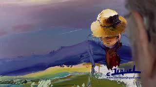 Download 01 - Démonstration de peinture au couteau par Christian Jequel: ″Moisson″ Video