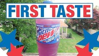 Download First Taste: Mountain Dew DewSA Video