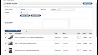 Download Opencart Amazon Affiliate Store - How to Import Amazon Products into Opencart Store Video
