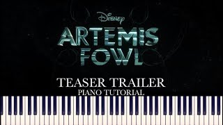 Download Artemis Fowl - Teaser Trailer (Piano Tutorial + Sheets) Video